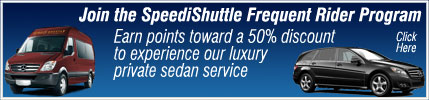 SpeediShuttle Frequent Rider