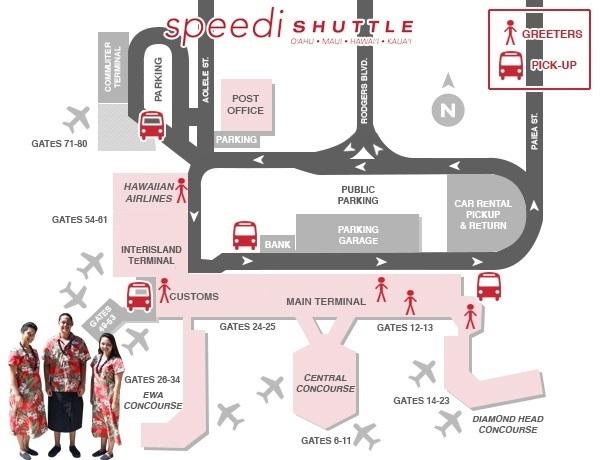 Speedishuttle Hawaii Airport Shuttle And Transportation